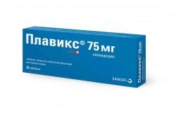 Плавикс, табл. п/о пленочной 75 мг №28