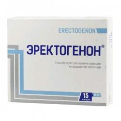 Эректогенон: инструкция по применению, цена, отзывы врачей и.